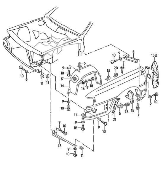 audi teilekatalog karosserie kotfluegel audi 200. Black Bedroom Furniture Sets. Home Design Ideas