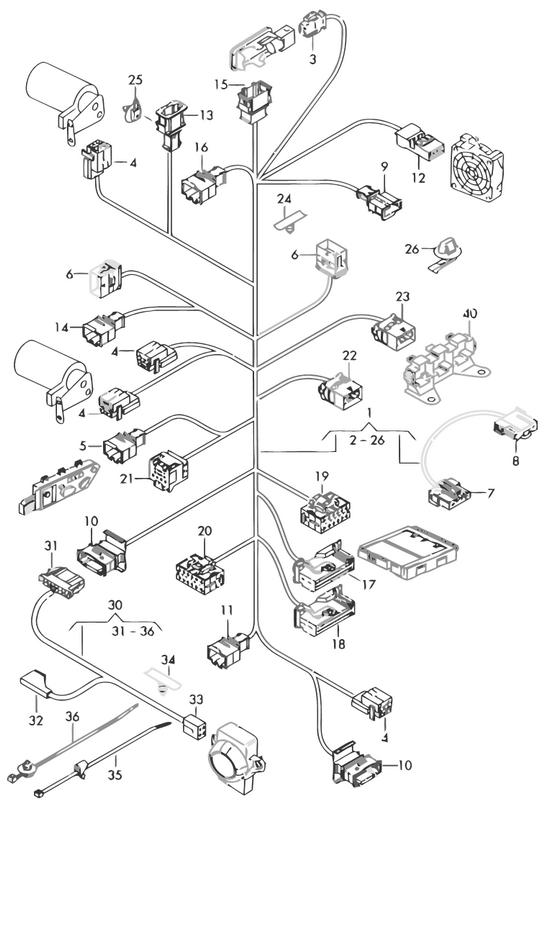 Audi Teilekatalog - Elektrik / Leitungssatz für elektrisch ...